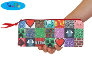 SewFlo-Minecraft Pencil Case Giveaway