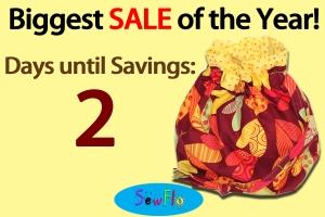 SewFlo-SALE Countdown 2